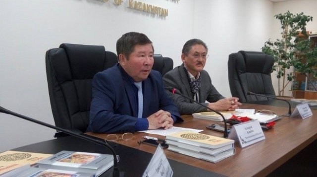 Kazakh PEN club and young writers